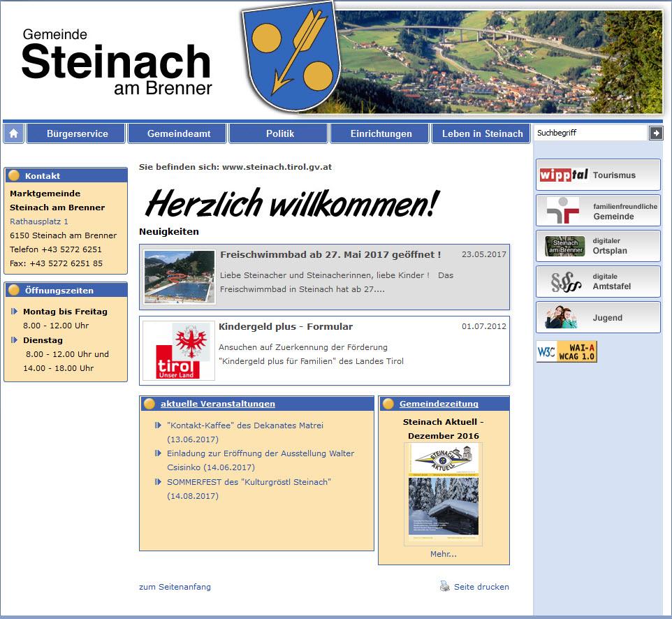 Link Gemeinde Steinach