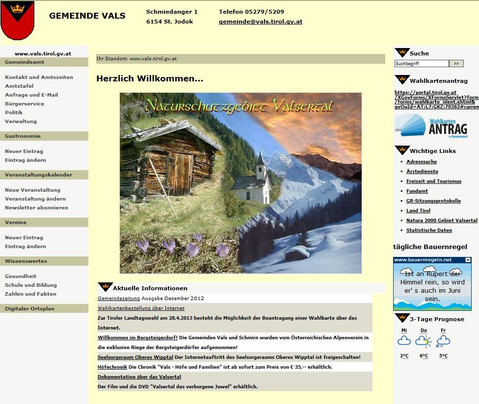 Link Gemeinde Vals