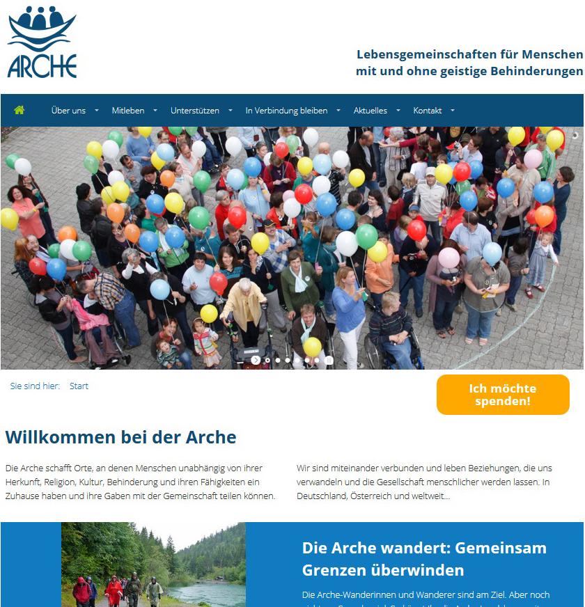 Link Arche Deutschland