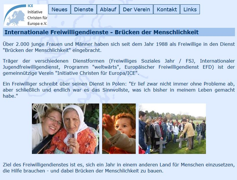 Link Internationale Freiwilligendienste