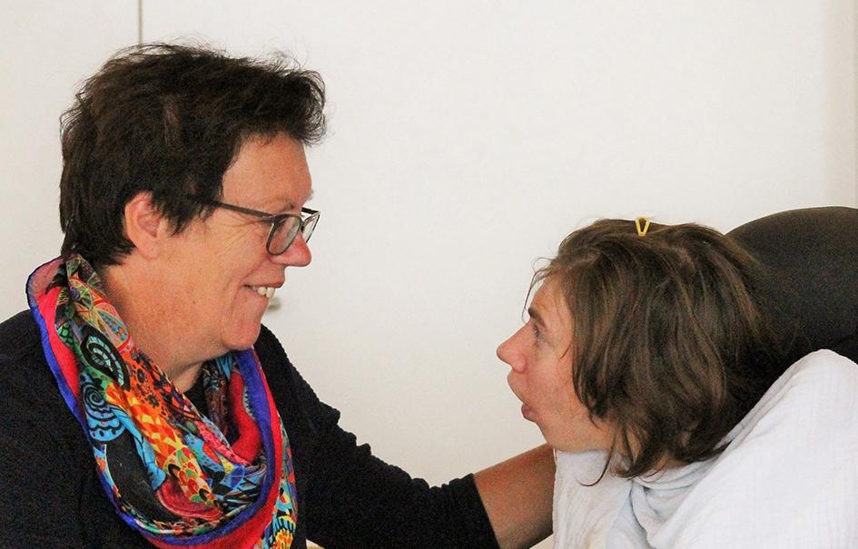 Waltraud Zingerle und Ramona Putzi