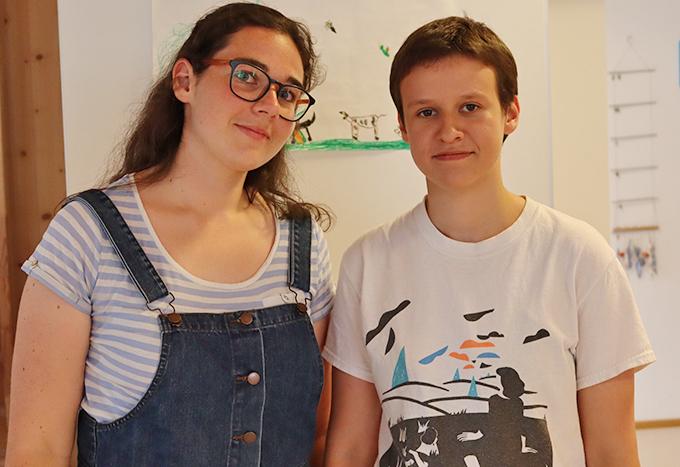 Susanna und Franziska