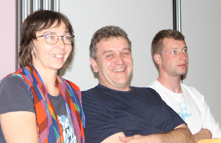 Gabriela und Mario Lohse und Pieter Druyts