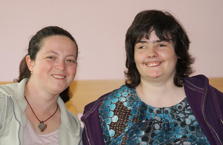 Laura Szabo und Anny Rittinger