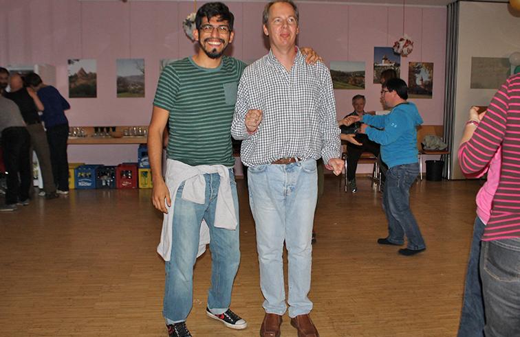 Sebastian Toledo Salinas und Reinhold Jopp