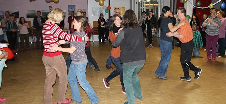 Tanzfest am letzten Abend