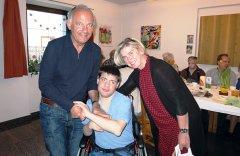 Martin Paulitschke mit seinen Eltern