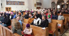 Messe beim Eröffnungsfest
