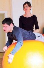 Ballhüpfen mit Martin Paulitschke
