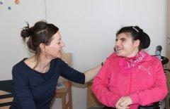 Katrin Penz und Lisa-Maria Koch in der Basalen Gruppe